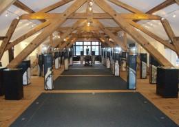 Museumseinrichtung und Vitrinen im Chopard Museum